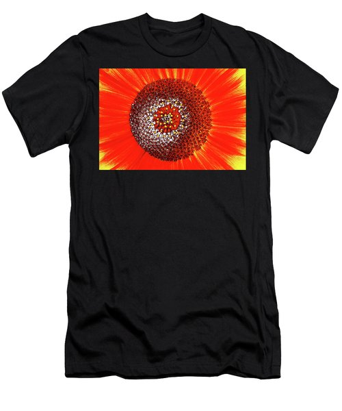 Sunflower Close Men's T-Shirt (Athletic Fit)