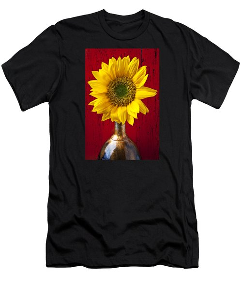 Sunflower Close Up Men's T-Shirt (Athletic Fit)