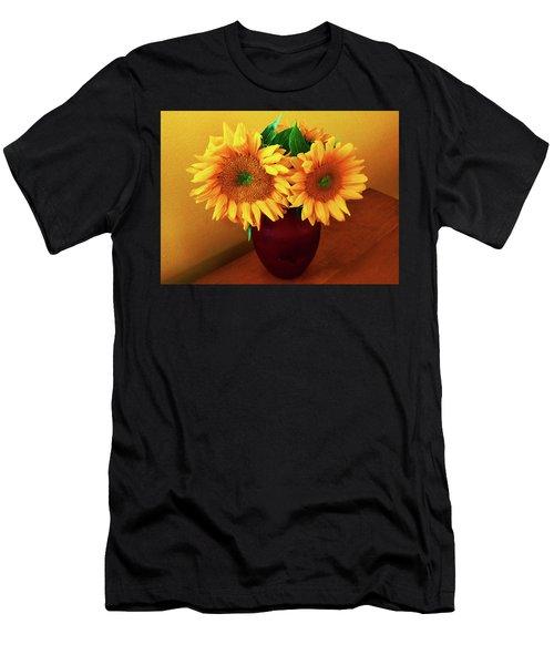 Sunflower Corner Men's T-Shirt (Athletic Fit)