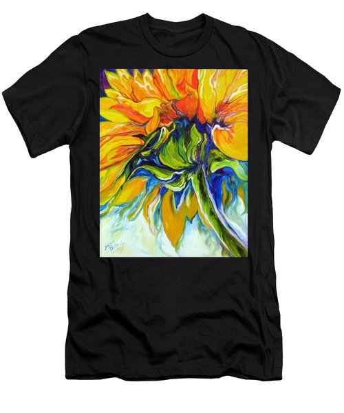 Sunflower Day Men's T-Shirt (Athletic Fit)