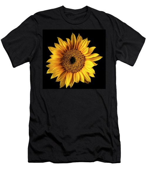 Sunflower Dew Covered Men's T-Shirt (Athletic Fit)