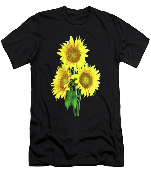 Sunflower Dreaming Men's T-Shirt (Athletic Fit)