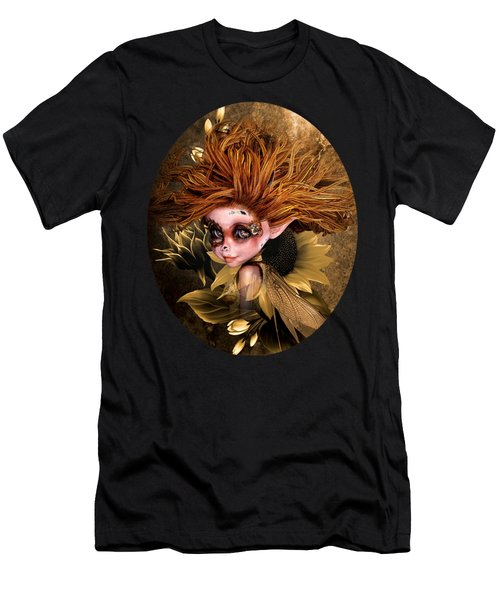 Sunflower Fairy Men's T-Shirt (Athletic Fit)