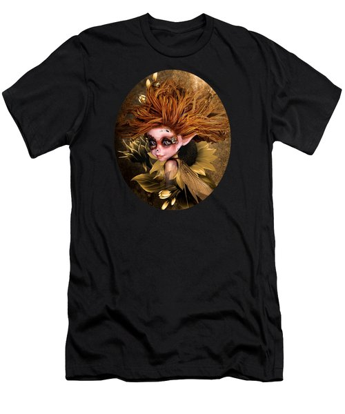 Sunflower Fairy Men's T-Shirt (Athletic Fit)