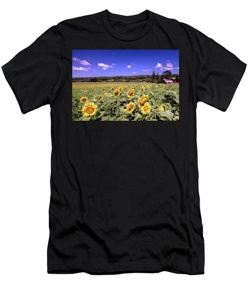 Sunflower Farm Men's T-Shirt (Athletic Fit)