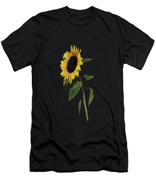 Sunflower Glow Men's T-Shirt (Athletic Fit)