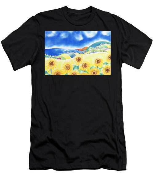 Sunflower Hills Men's T-Shirt (Athletic Fit)