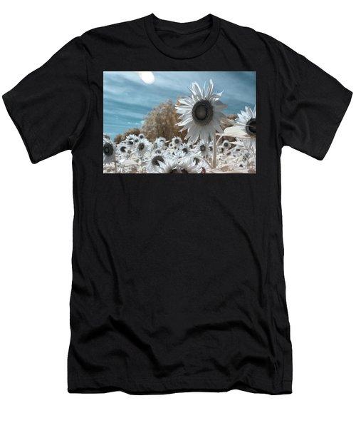 Sunflower Infrared  Men's T-Shirt (Athletic Fit)