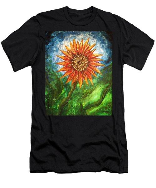 Sunflower Joy Men's T-Shirt (Athletic Fit)