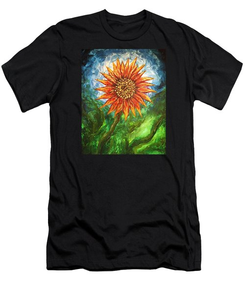 Sunflower Joy Men's T-Shirt (Athletic Fit)