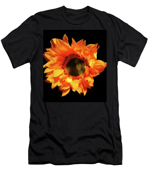 Sunflower Passion Men's T-Shirt (Athletic Fit)