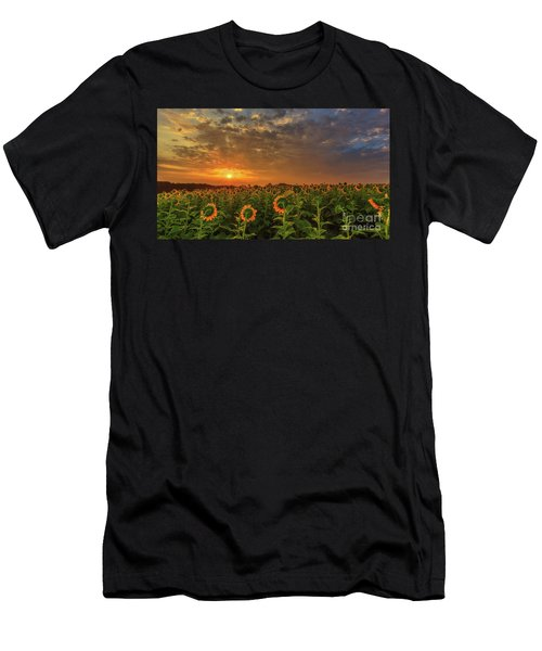 Sunflower Peak Men's T-Shirt (Athletic Fit)