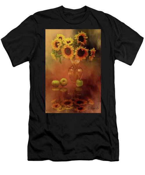 Sunflower Reflections Men's T-Shirt (Athletic Fit)