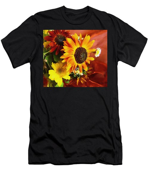 Sunflower Strong Men's T-Shirt (Athletic Fit)