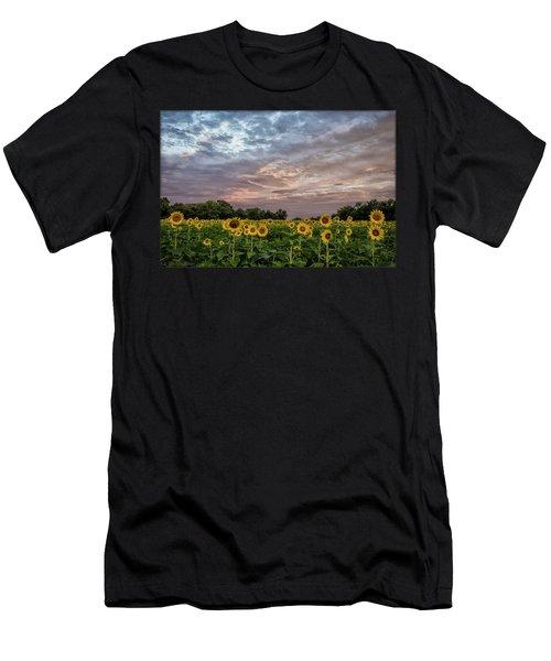 Sunflower Sunrise Men's T-Shirt (Athletic Fit)