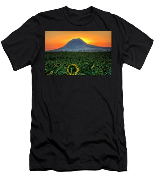Sunflower Sunrise Men's T-Shirt (Athletic Fit)