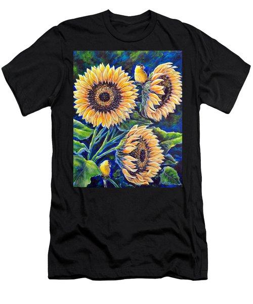Sunflower Supper Men's T-Shirt (Athletic Fit)