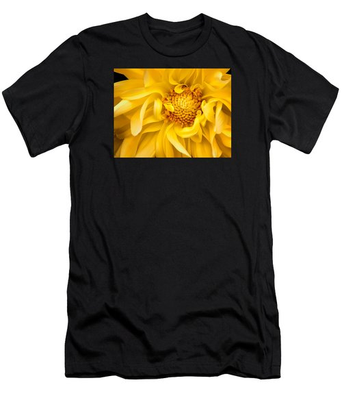Sunflower Yellow Men's T-Shirt (Athletic Fit)