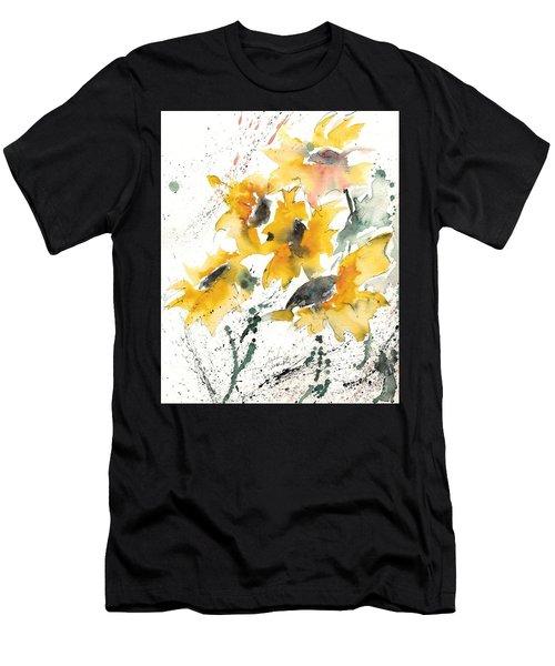 Sunflowers 10 Men's T-Shirt (Athletic Fit)