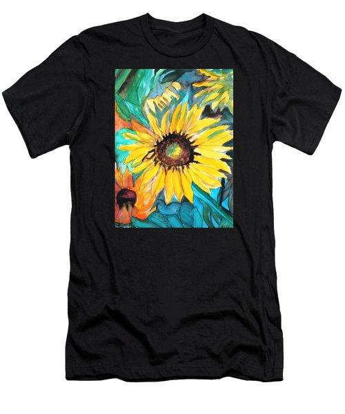 Sunflowers 7 Men's T-Shirt (Athletic Fit)