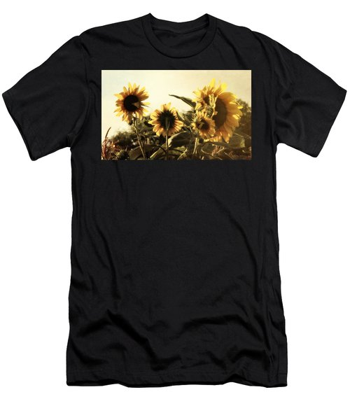 Sunflowers In Tone Men's T-Shirt (Athletic Fit)