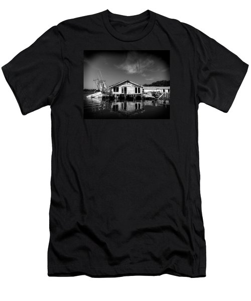Men's T-Shirt (Slim Fit) featuring the photograph Sunken Dream by Alan Raasch
