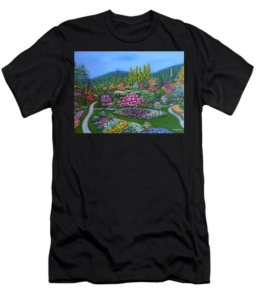 Sunken Garden Men's T-Shirt (Athletic Fit)