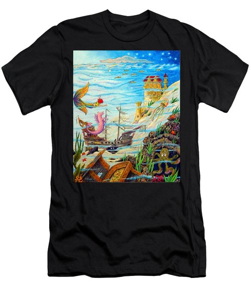 Sunken Ships Men's T-Shirt (Athletic Fit)