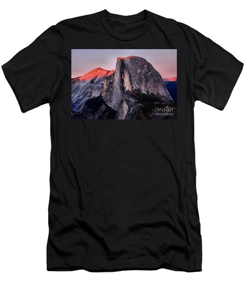 Sunkiss On Half Dome Men's T-Shirt (Athletic Fit)