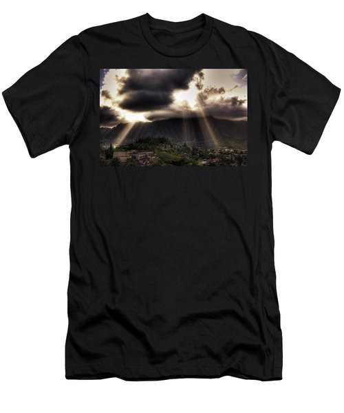 Sunlight Breaking Through The Gloom Men's T-Shirt (Athletic Fit)