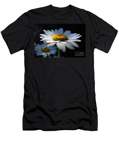 Sunlight Flower Men's T-Shirt (Slim Fit) by John S
