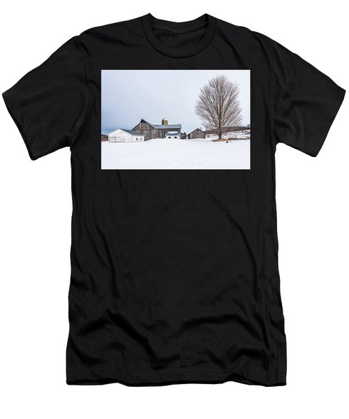 Sunlight On Abandoned Buildings Men's T-Shirt (Athletic Fit)