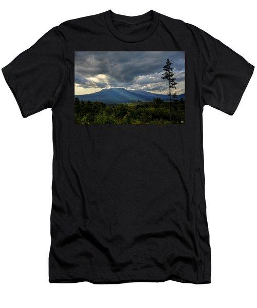 Sunlight On Katahdin Men's T-Shirt (Athletic Fit)