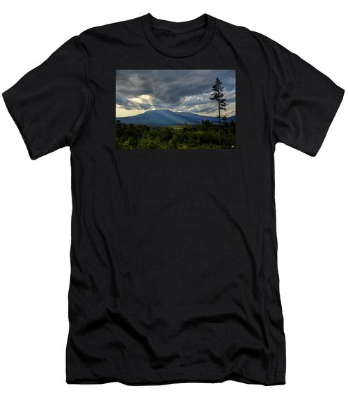 Sunlight On Katahdin Men's T-Shirt (Athletic Fit)