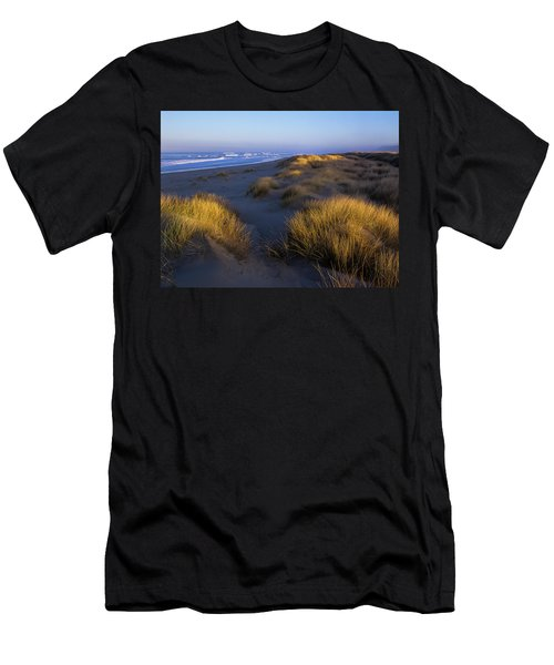 Sunlight On The Beach Grass Men's T-Shirt (Athletic Fit)