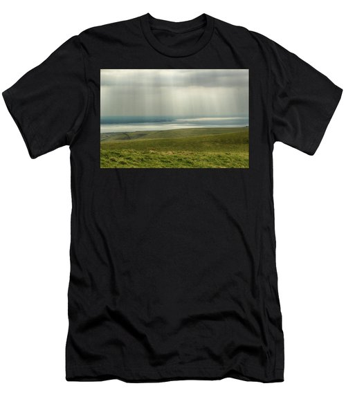 Sunlight On The Irish Coast Men's T-Shirt (Athletic Fit)