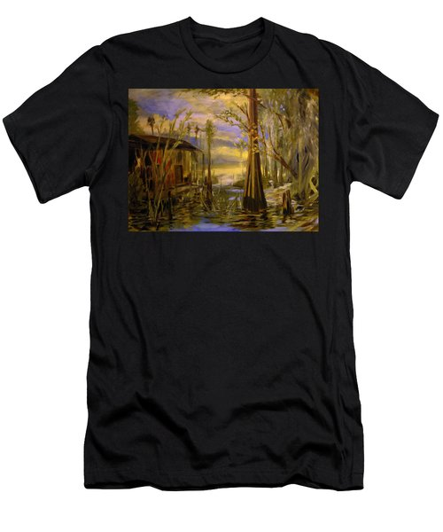 Sunlight On The Swamp Men's T-Shirt (Athletic Fit)
