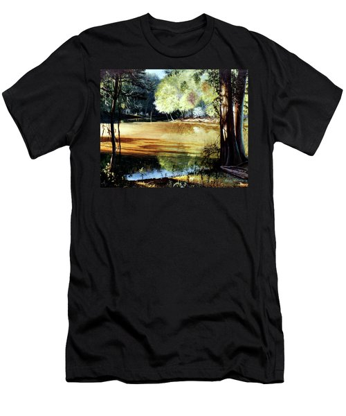 Sunlight On Village Creek Men's T-Shirt (Athletic Fit)