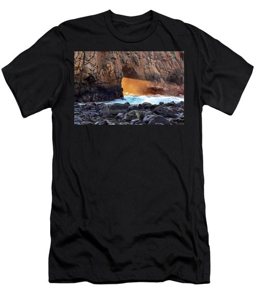 Men's T-Shirt (Athletic Fit) featuring the photograph Sunlight Through  by John Hight