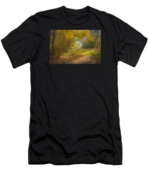 Sunlit Meadow In Borderland Men's T-Shirt (Athletic Fit)