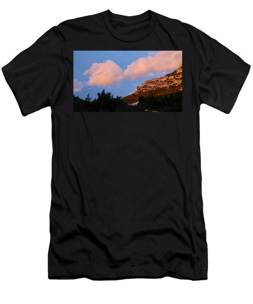 Men's T-Shirt (Athletic Fit) featuring the photograph Sunlit Path by August Timmermans