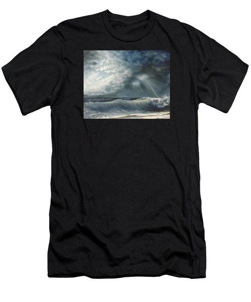 Sunlit Sea Men's T-Shirt (Athletic Fit)
