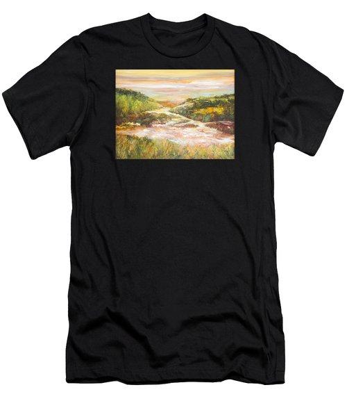 Sunlit Stream Men's T-Shirt (Athletic Fit)