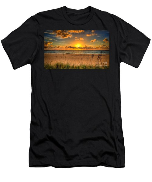 Sunny Beach To Warm Your Heart Men's T-Shirt (Athletic Fit)