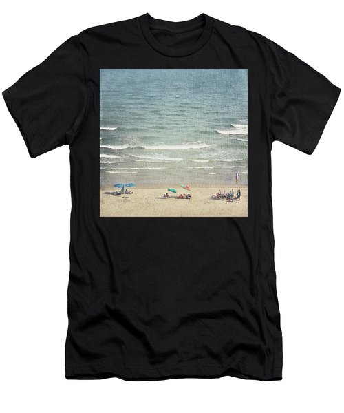 Sunny Day At North Myrtle Beach Men's T-Shirt (Athletic Fit)