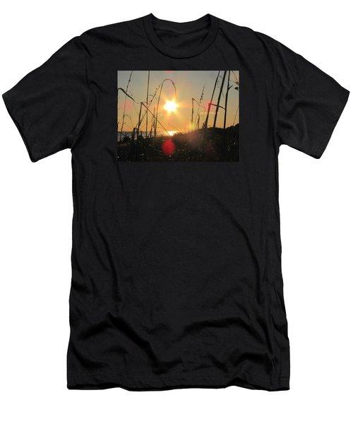 Sunny Dunes Men's T-Shirt (Athletic Fit)