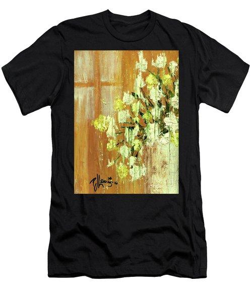 Sunny Flowers Men's T-Shirt (Athletic Fit)