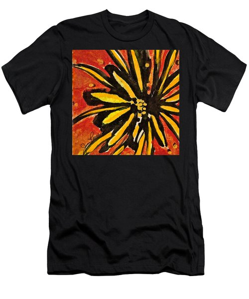 Sunny Hues Watercolor Men's T-Shirt (Athletic Fit)