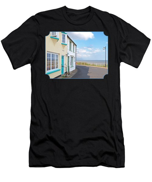 Sunny Outlook - Southwold Seafront Men's T-Shirt (Athletic Fit)