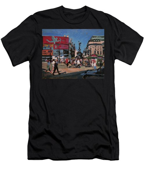Sunny Piccadilly Men's T-Shirt (Athletic Fit)